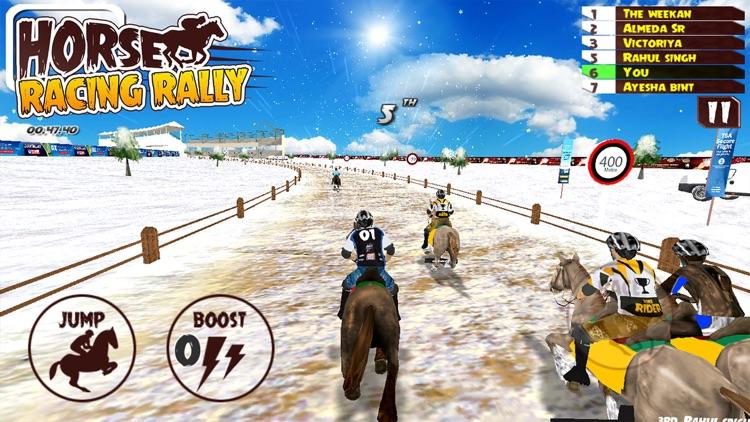 Horse Riding Racing Rally screenshot-4