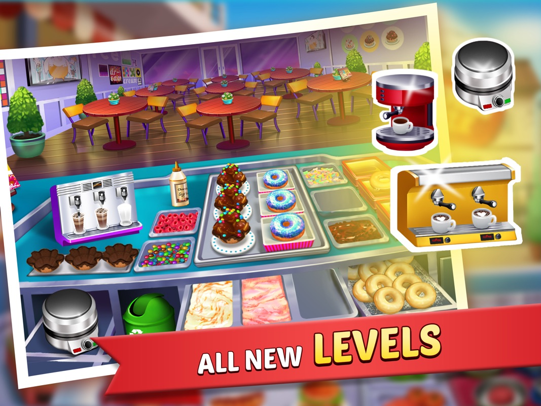 Well one of the app stores most fun cooking simulation kitchen craze