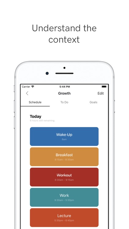 Growth - Daily Planner