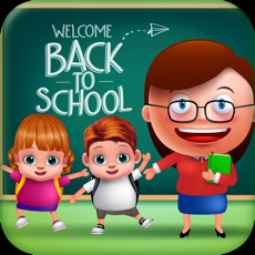 Activities of Twins Baby First Day At School