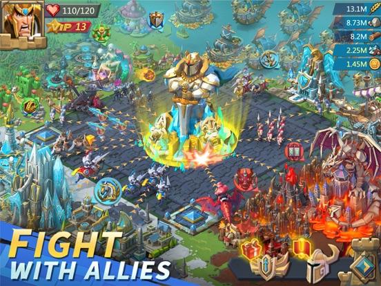 Lords Mobile: Tower Defense iPad app afbeelding 5