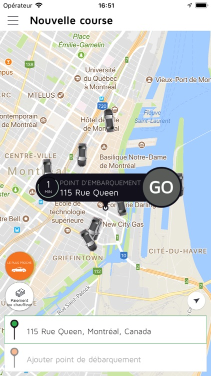Taxi Diamond: Montreal's Taxi screenshot-2