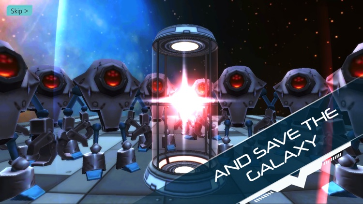 Explodey: Sci-Fi Side Scroller screenshot-7