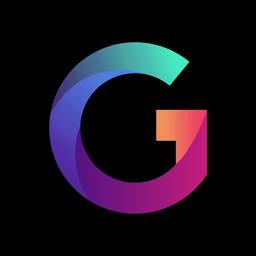 Ícone do app Gradient: Editor de fotos IA