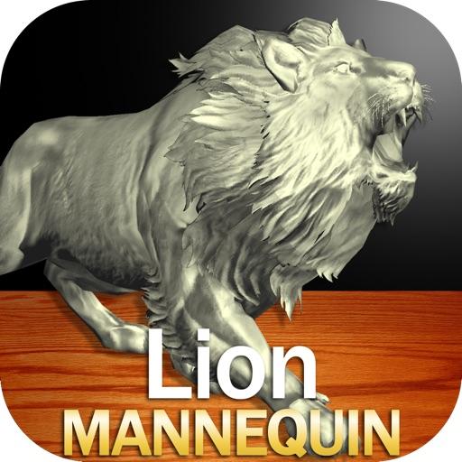 Lion Mannequin