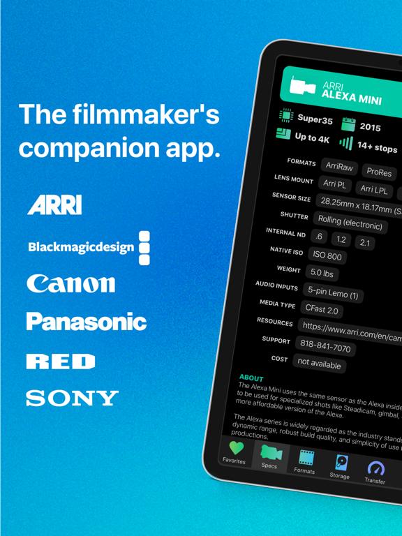 Cameras + Formats