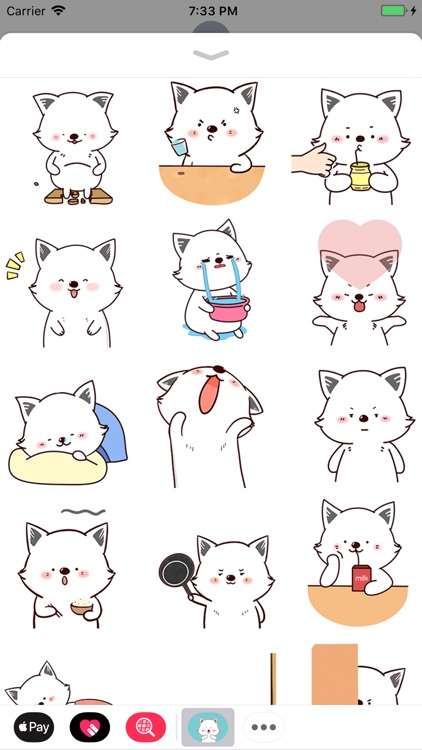 Funny Puppy Animated Stickers