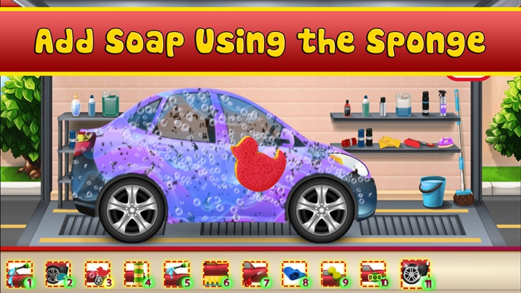 Tiny Car Wash screenshot-7