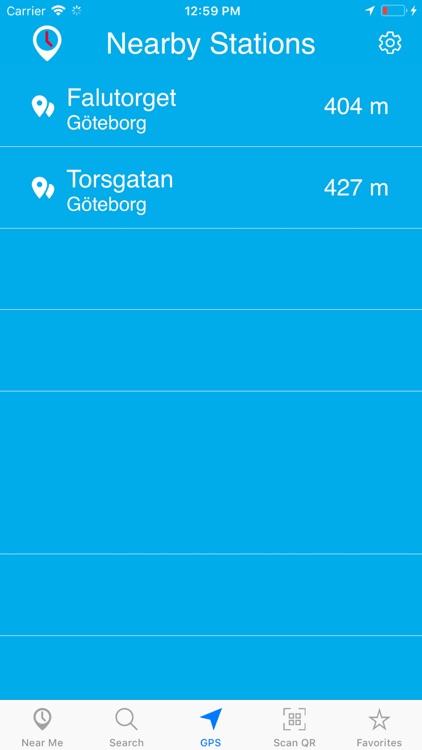Timespot for Västtrafik screenshot-4