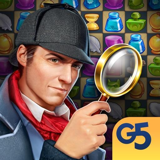 Sherlock: Hidden Match 3 Cases icon