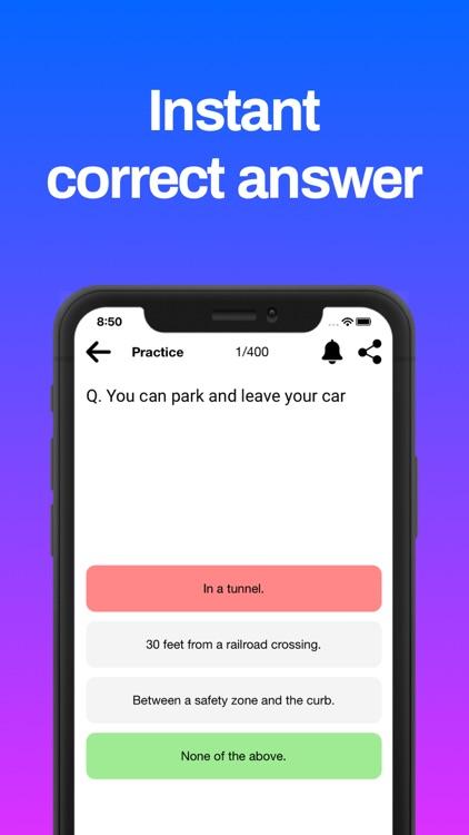 DMV Practice Test 2021 screenshot-7