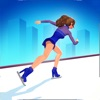 フィギュア スケート ガール変身 - かわいいファッションの女の子、メイクアップとプリンセスのゲームを愛する子供たちのゲームをドレスアップします。