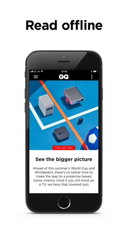 GQ Magazine (UK) screenshot-3