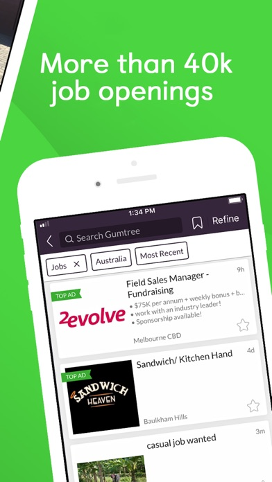 Local Sales Apps >> Gumtree Local Ads Buy Sell App New Apps On Itunes
