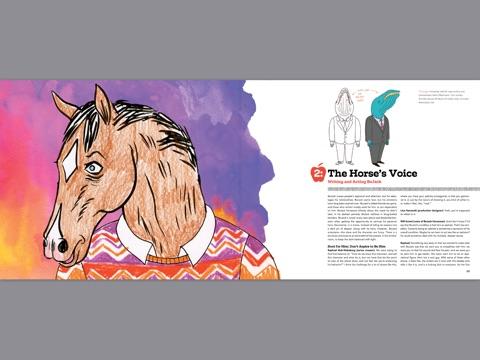 Bojack Horseman The Art Before The Horse By Chris Mcdonnell Lisa