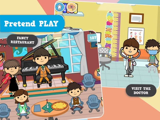 iPad Image of Lila's World:Create Play Learn