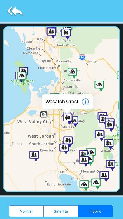 Utah Camping & State Parks screenshot-4