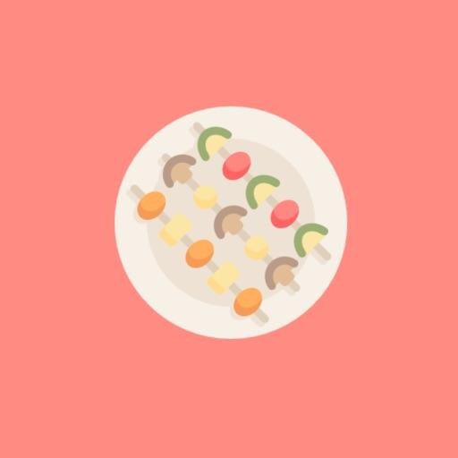 Vegan Meals Stickers