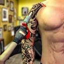 Tattoo Body Design-Ink Art Sim