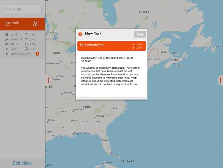 NOAA Radar & Hurricane inFocus screenshot-4