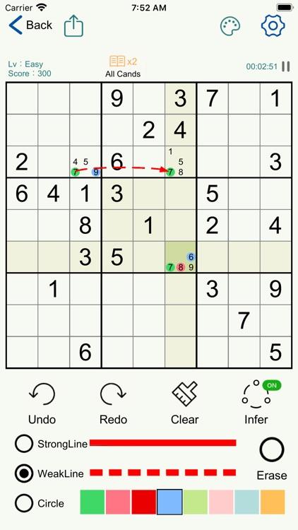 Sudoku - Logic Number Puzzles screenshot-3
