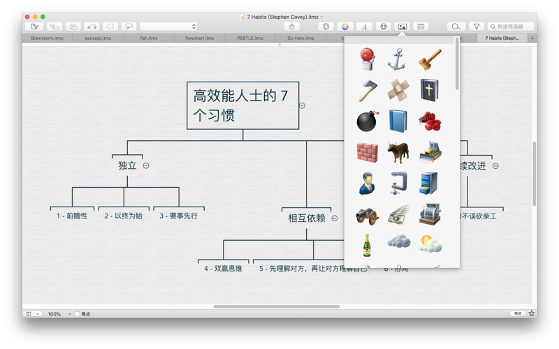 iThoughtsX (mindmap) for Mac
