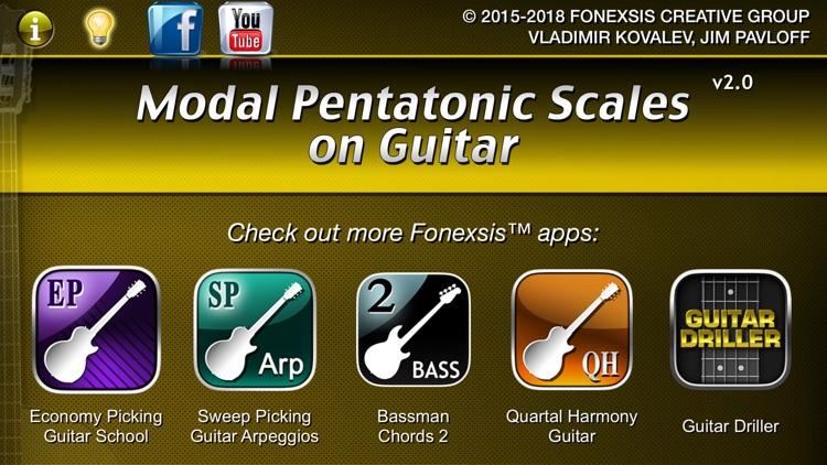 Guitar Modal Pentatonic Scales screenshot-7