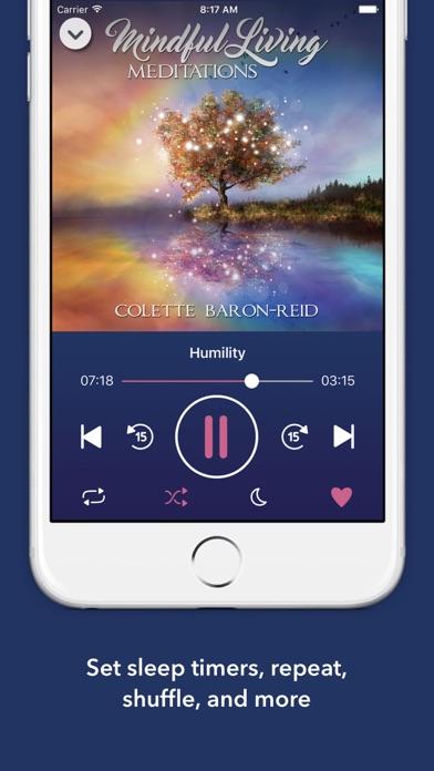Mindful Living Meditations screenshot two