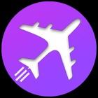 廉价航班,酒店 icon