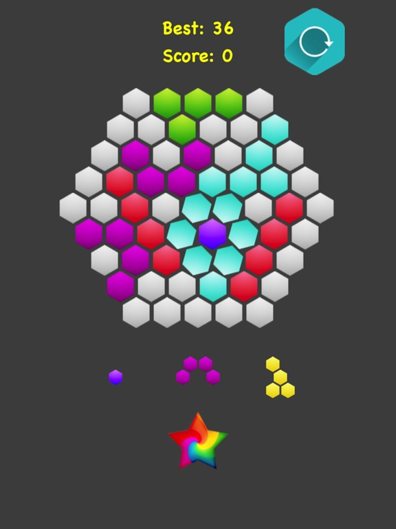 Hexagonal Merge.. screenshot 9