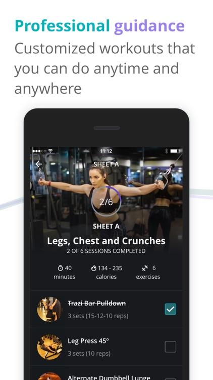 BTFIT Home Workout Fitness App screenshot-3