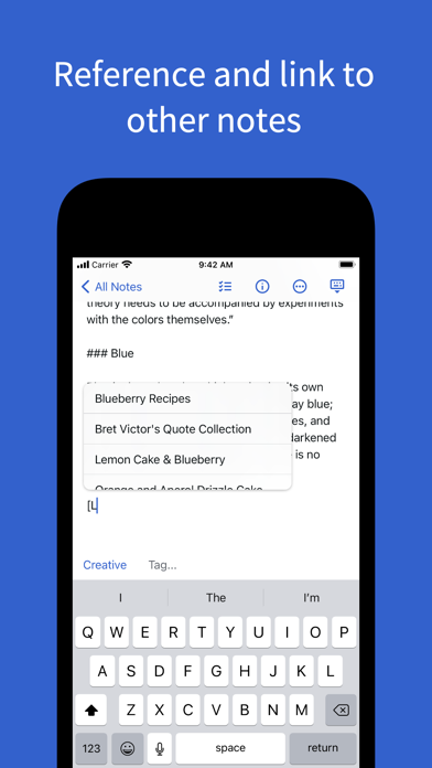 Simplenote – Notes and Todos ScreenShot2
