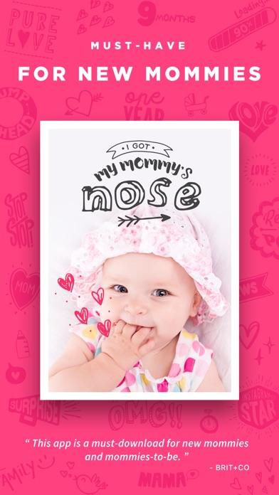 Baby Story - Pics Editor screenshot 1