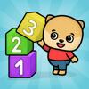Números juego de bebés 3+ años