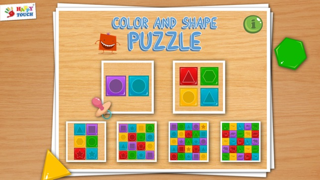 Color and Shape for Toddlers on the App Store