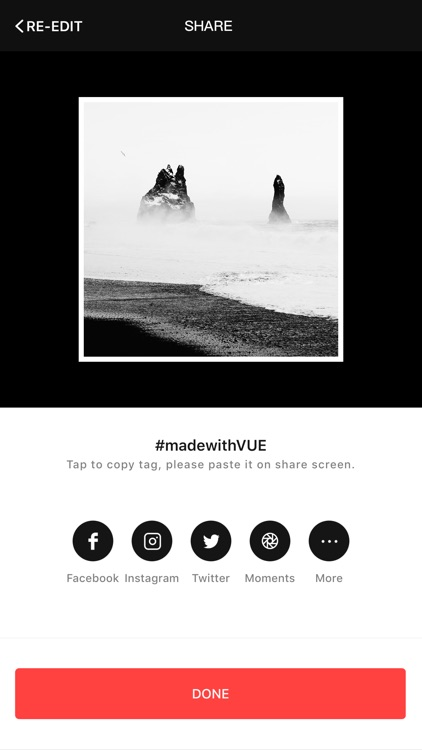 VUE - movie & video editor
