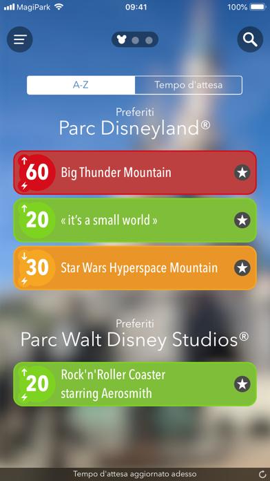 Screenshot of MagiPark per Disneyland Paris1