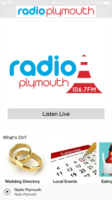 Radio Plymouth - 106.7 screenshot one