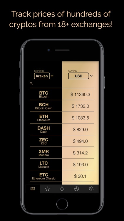 Crypto Price Tracker screenshot-0