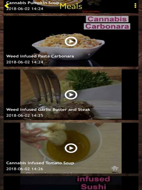 Mega Weed Cookbook Screenshots