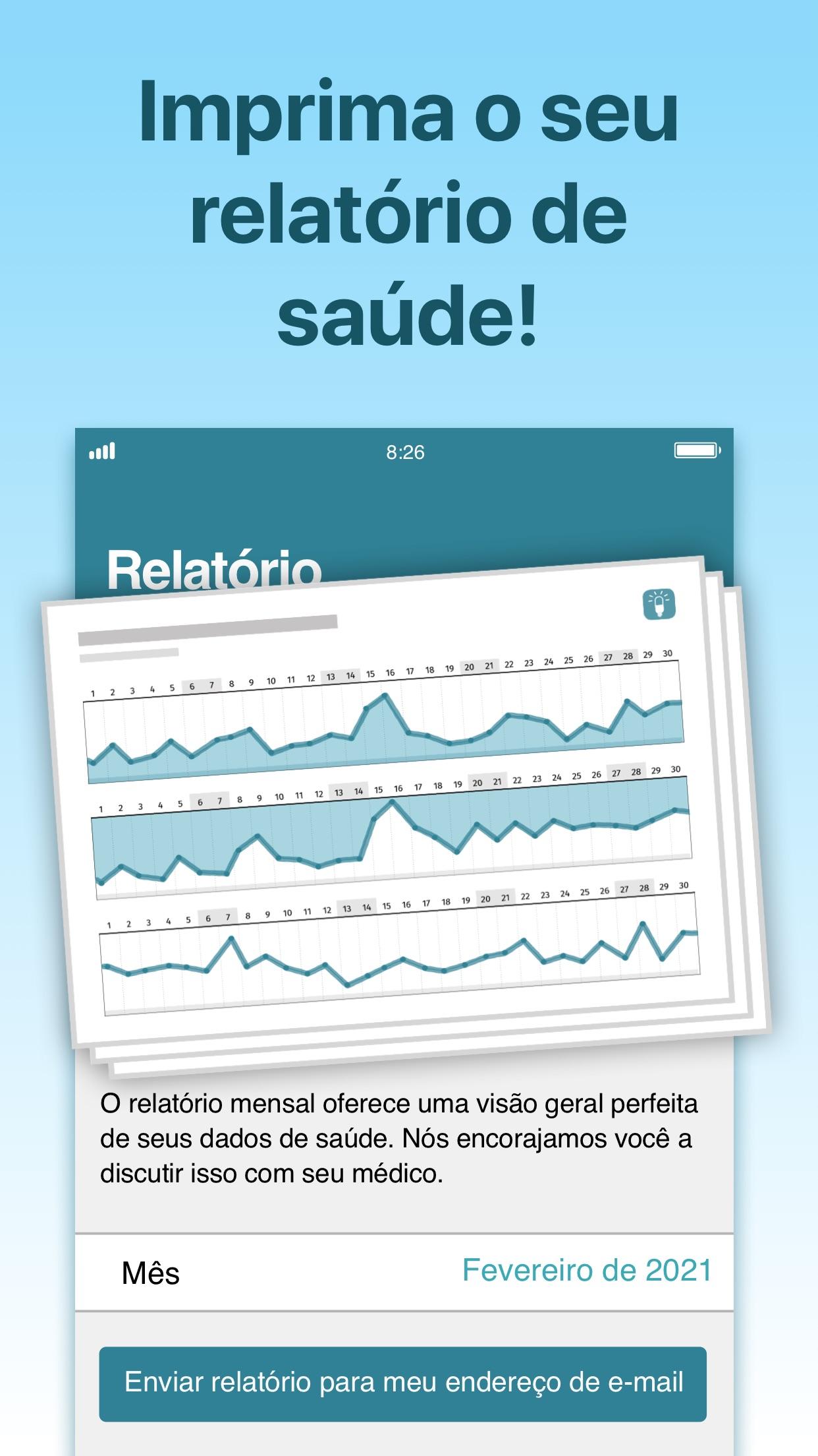 Screenshot do app Alarme de Medicamentos