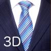 Tie a Necktie 3D Animated