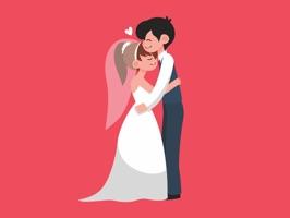 Wedding Couple Emojis