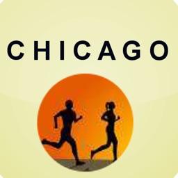 Marathon Map for Chicago
