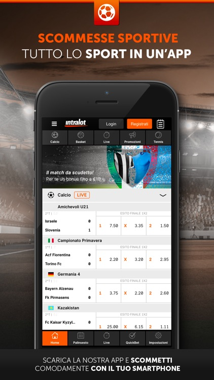 Intralot Scommesse Sportive screenshot-0