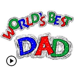 Happy Father's Day Sticker Gif