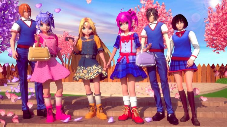 My Anime Girl Love Life Story screenshot-5