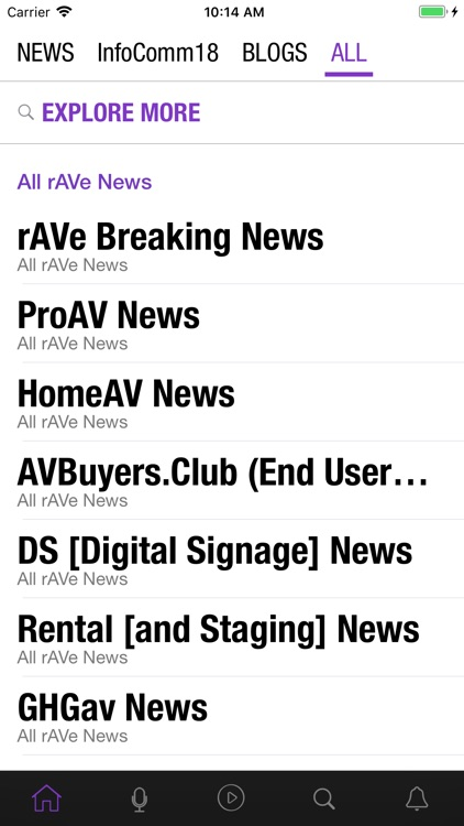 rAVe NEWS for iPhone and iPad