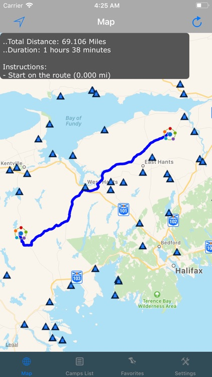 Nova Scotia – Camping & RV's screenshot-2