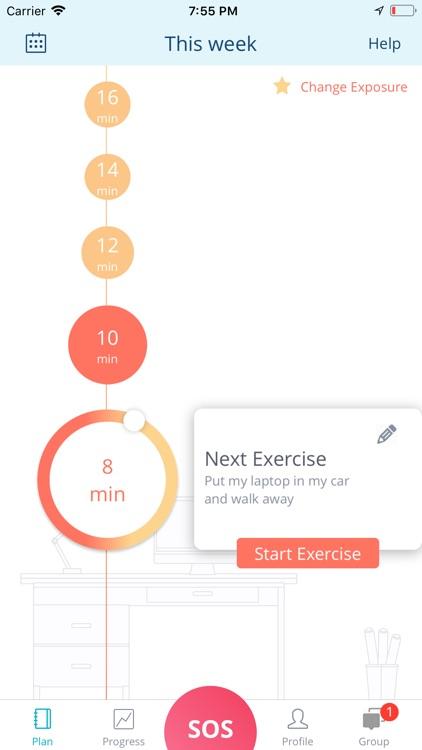 nOCD: OCD Treatment App screenshot-3